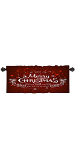 Merry Christmas red background with twinkling snowflakes