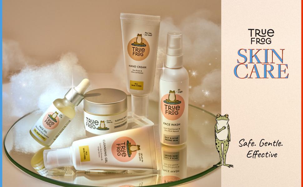 Skincare Range Banner