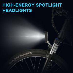 High-energy Spotlight Headlights
