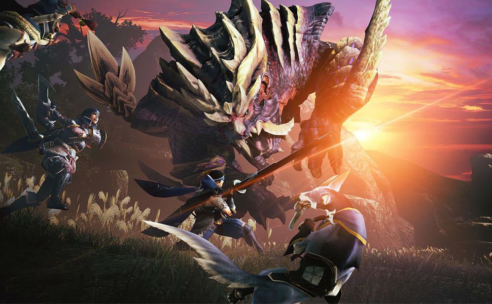 Carrying Case for Monster Hunter Rise