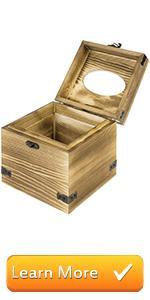 ballot box with lock donation box with lock ballot box cardboard