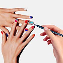 nail liner brushes