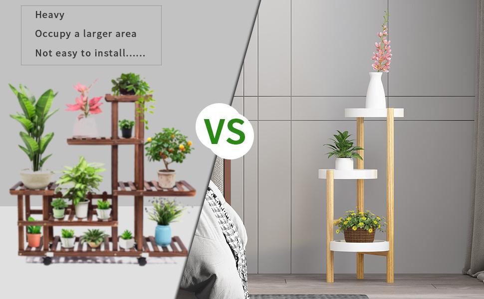 welland 3 tier plant rack indoor outdoor