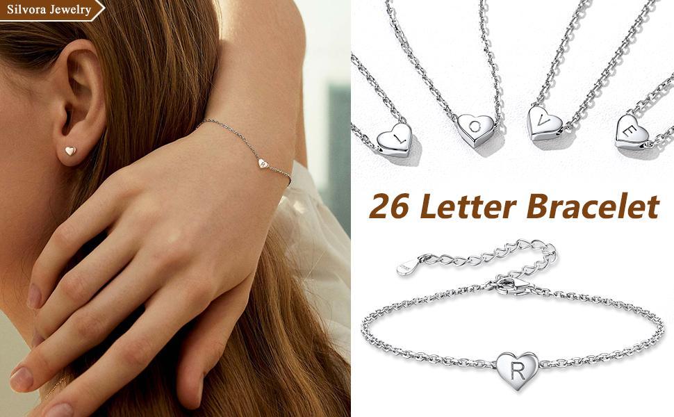 letter bracelet