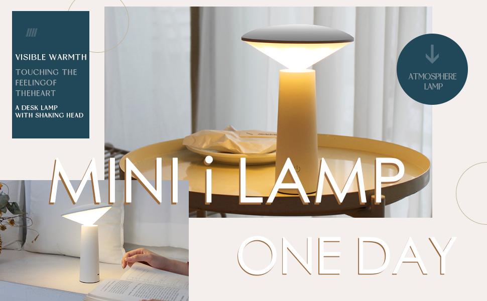 Mini i lamp