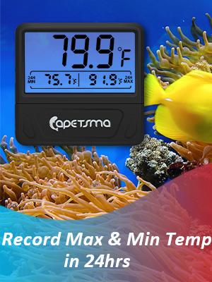 digital thermometer fish tank