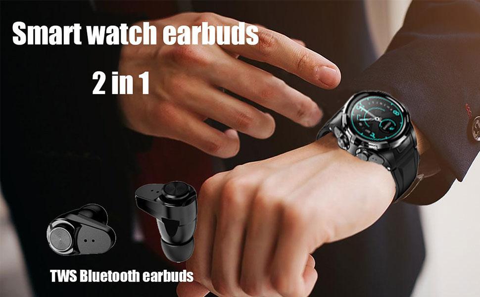 smartwatch eabruds 2 in 1