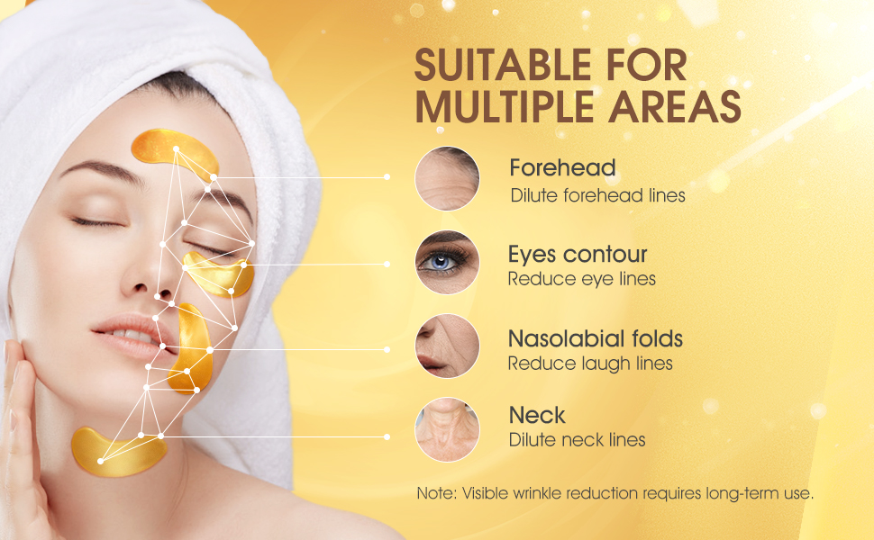 under eye mask dark circles and puffiness