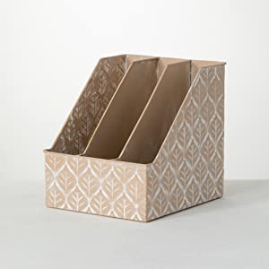 Three Compartment File & Document Holder