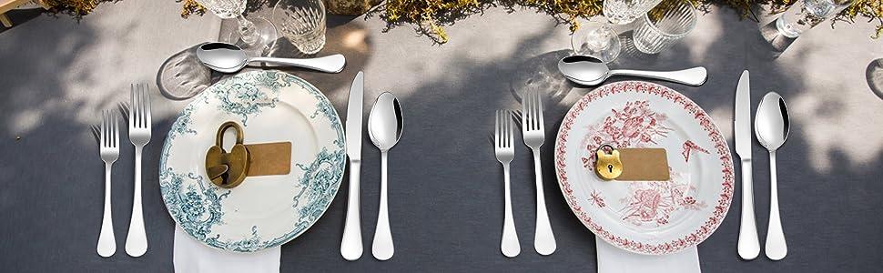 18/10 stainless steel  flatware set