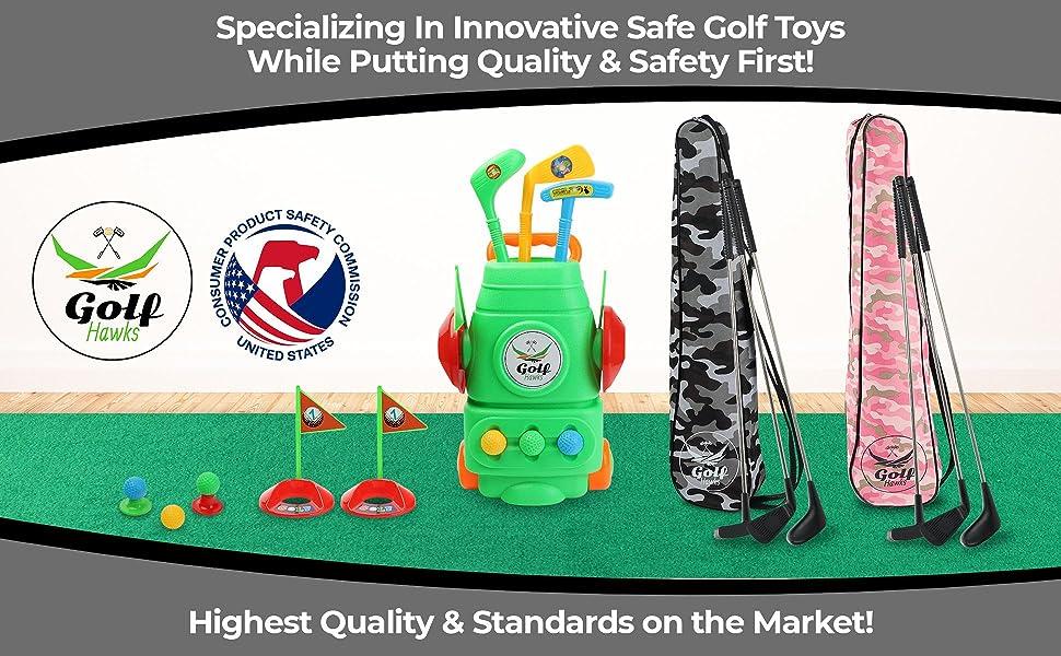 Premium Kids Golf Clubs 3-5