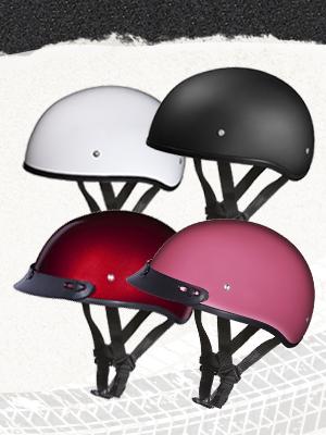 Daytona Helmets skull cap 1/2 shell
