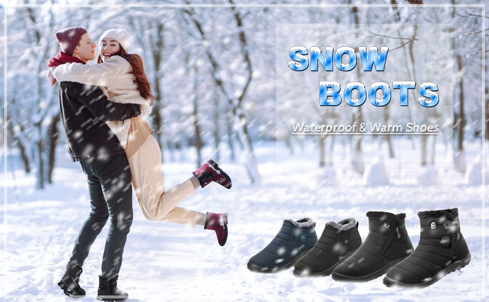 womens mens snow boots