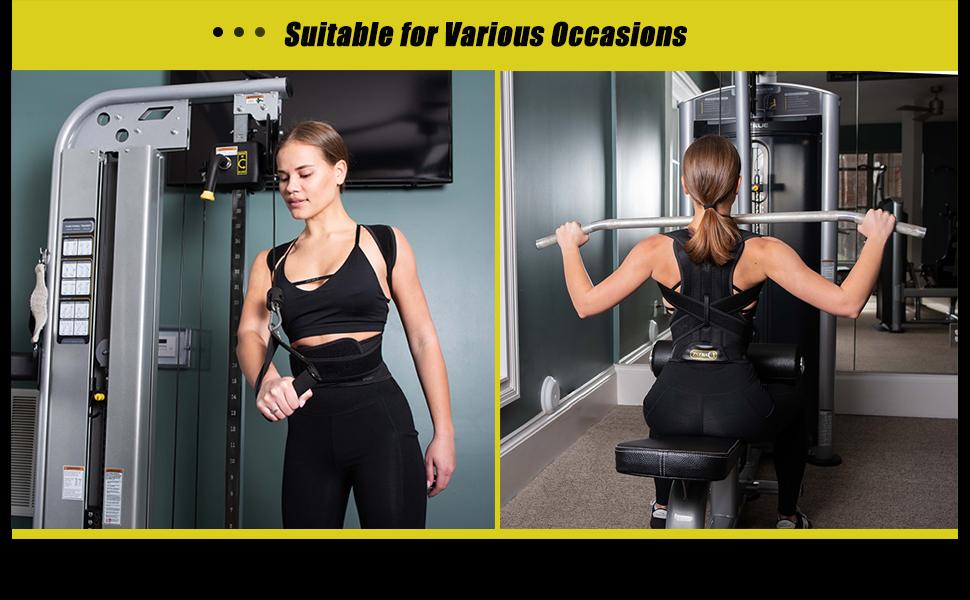 back brace for exercise