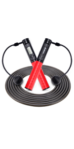 Counting Jump Rope, laps and calorie counting,jump rope with counter,digital jump rope