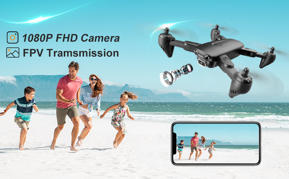 drone with 1080p camera