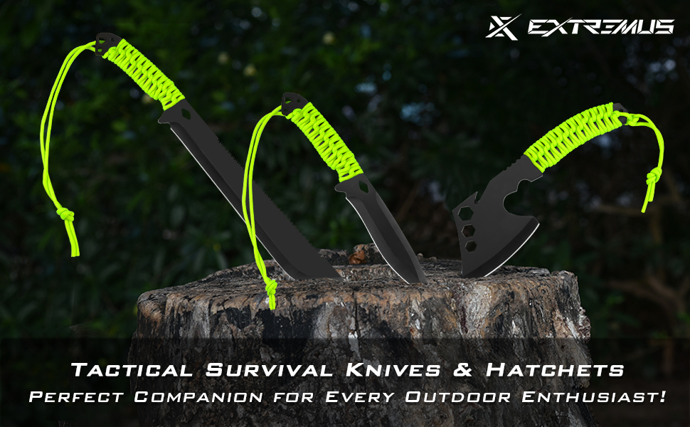 survival knife, camping knife, hunting knife, fixed blade knife, military knife, bowie knife