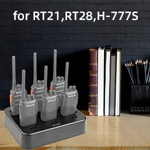 walkie talkei with charger for RT21 RT28 H-777S