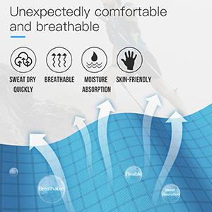 Comfortable elastic fabric
