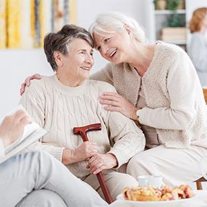 Soft level for the elderly