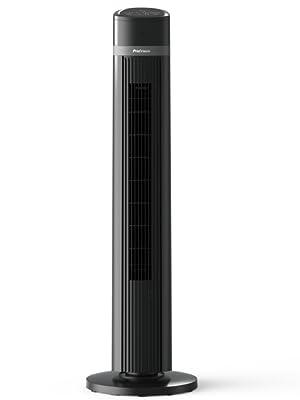 ventilateur tour de 100 cm probreeze noir puissant nouveau