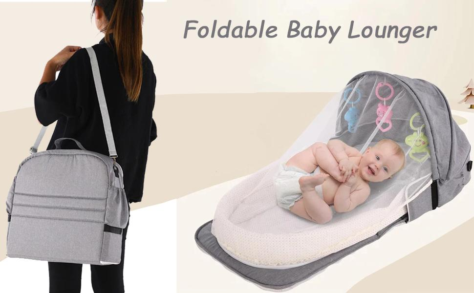 cover - foldable baby lounger
