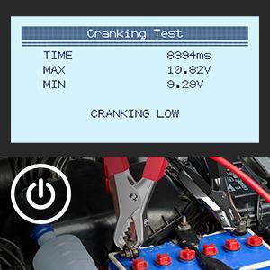 cranking tester