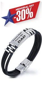 dad bracelet