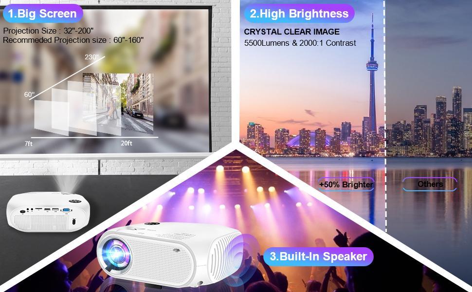 mini projector outdoor projector