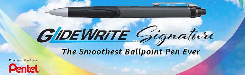 glidewrite signature pentel ballpoint