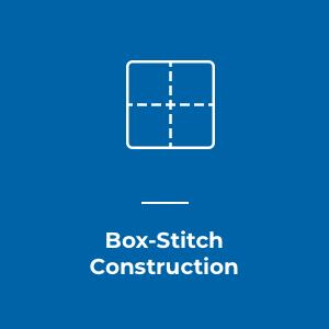 box stitch construction