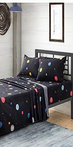 Solar System Bed Sheetsamp;amp; Pillowcases
