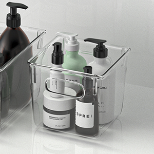 storage bins for bathrom