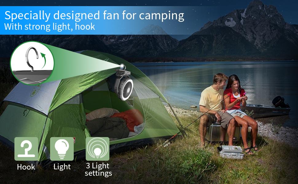 camping fan