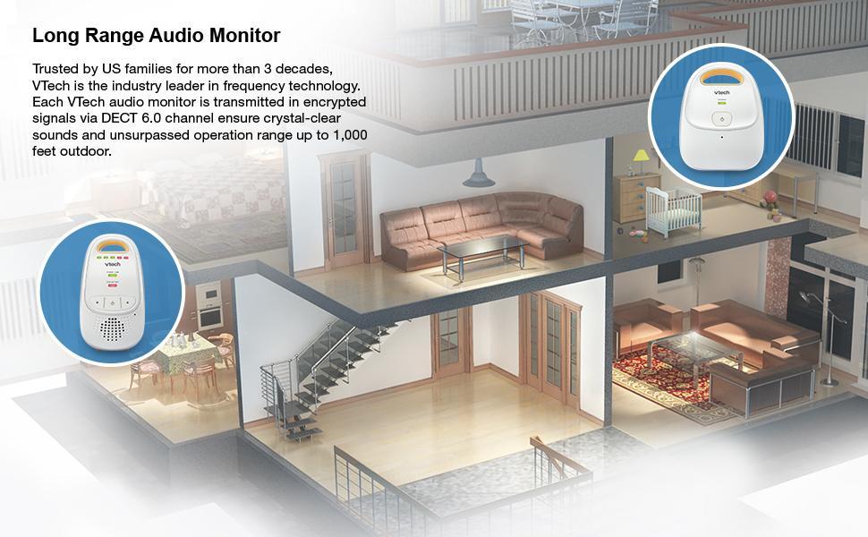 long range audio monitor