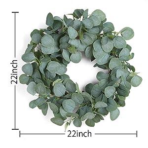 22 Inch summer wreath