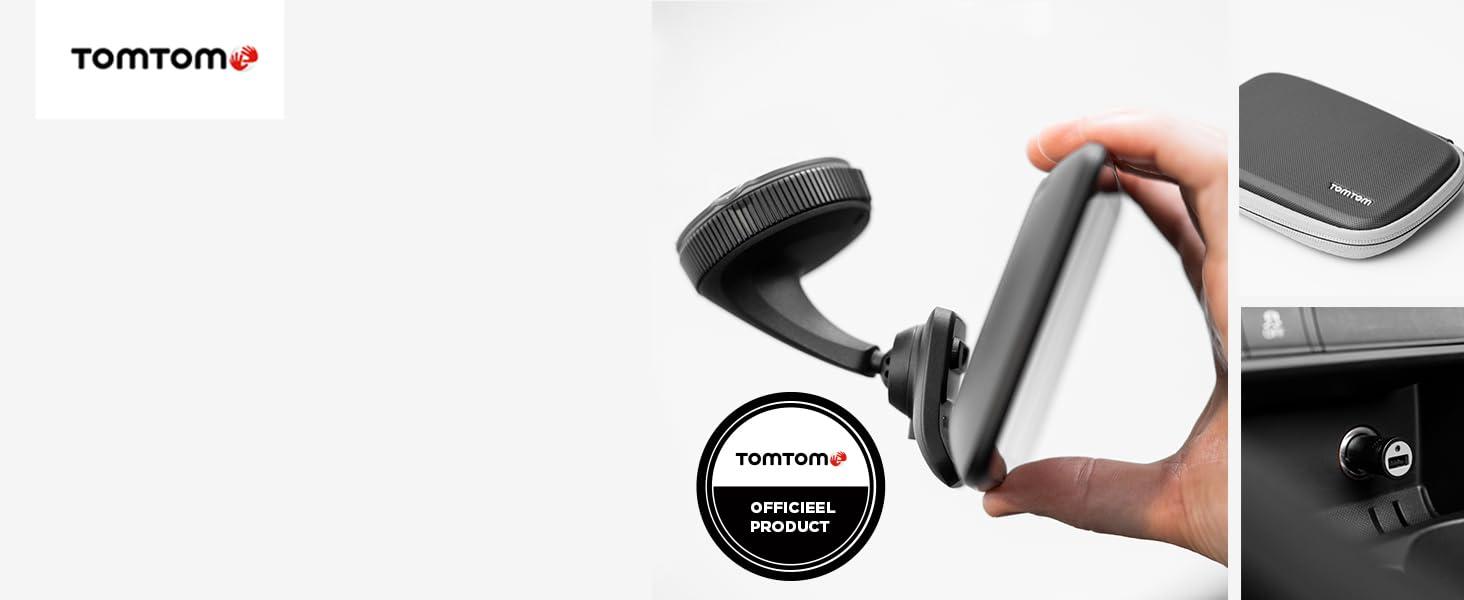Gemak en veiligheid met een TomTom-systeem
