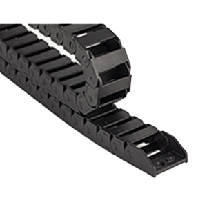 Cable Chains Bridge Type Non-Opening Plastic Towline Transmission Drag Chain for Machine