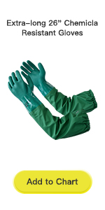 Extra-long 26amp;#34; Chemicla Resistant Gloves