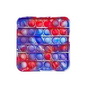 Fidget Toy Poppers square tie dye,
