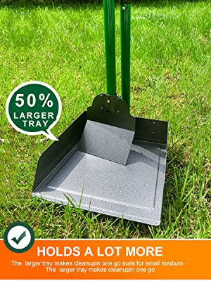 50% Larger Tray