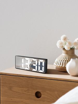 digital clock white