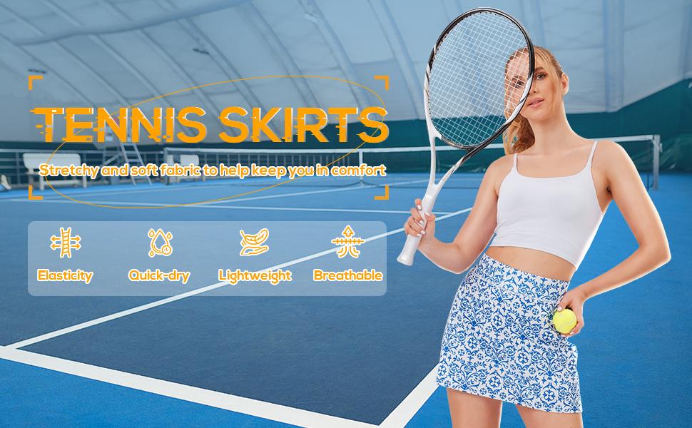 tennis skirts womens