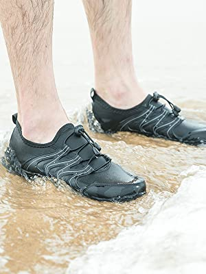mens water sports shoes for men quick dry non slip boating sailing wetshoe