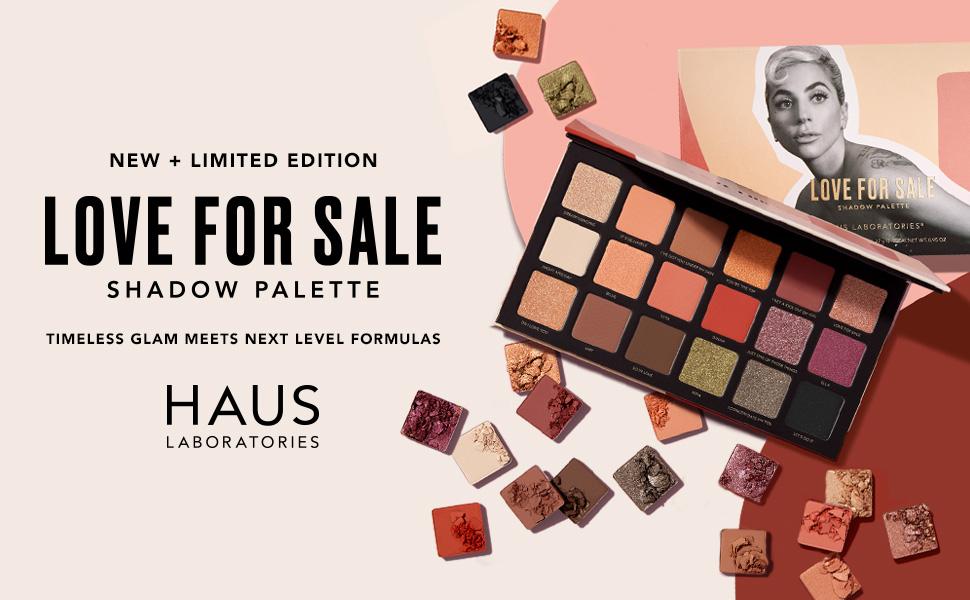 Ny + Limited Edition Kærlighed til salg Shadow Palette fra Haus Labs