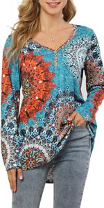 Women's  flower shirt