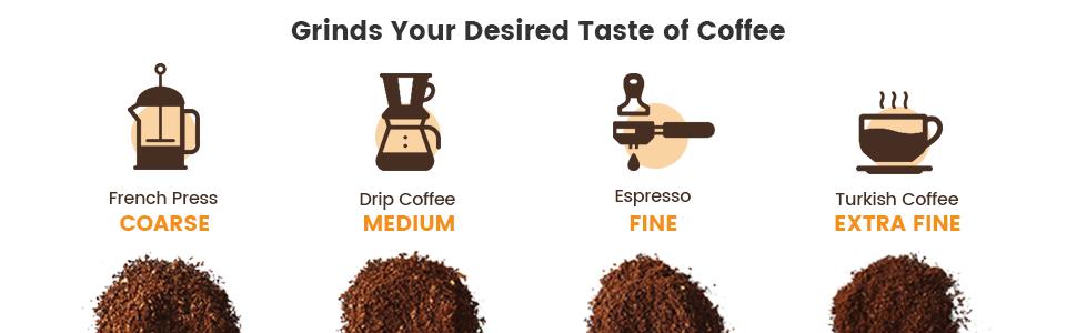 Meet usual coffee needs