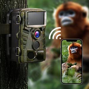 4K WiFi trail camera