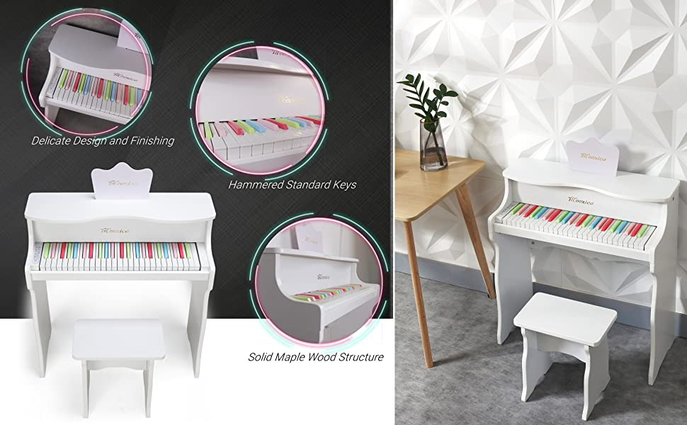 Wood Piano For Kids