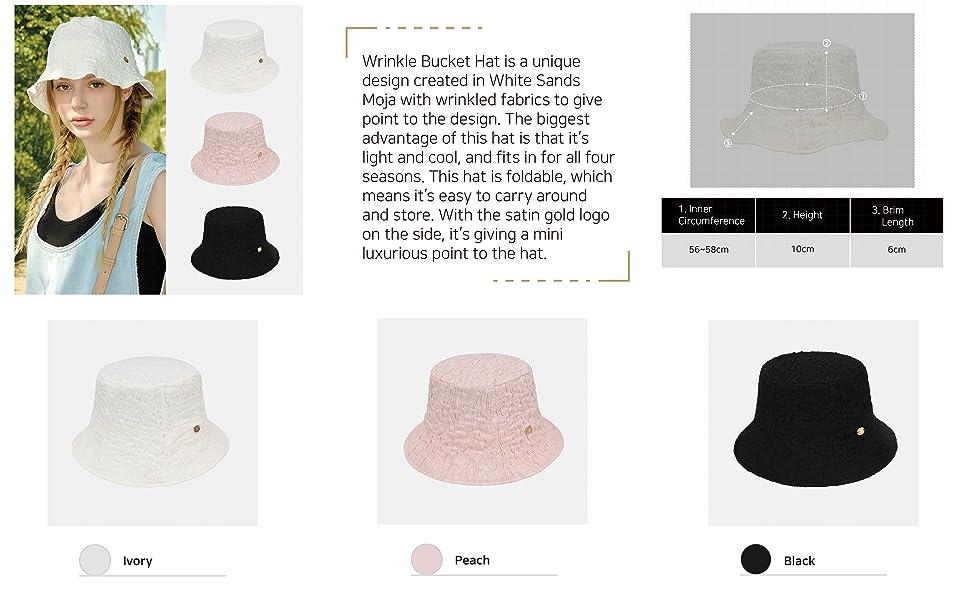 Wrinkled Bucket Hat